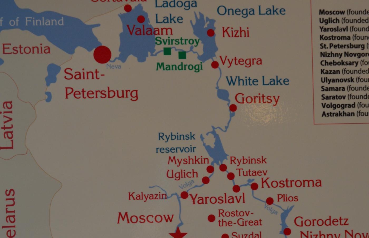 从圣彼得堡到莫斯科的内河游船_图1-3