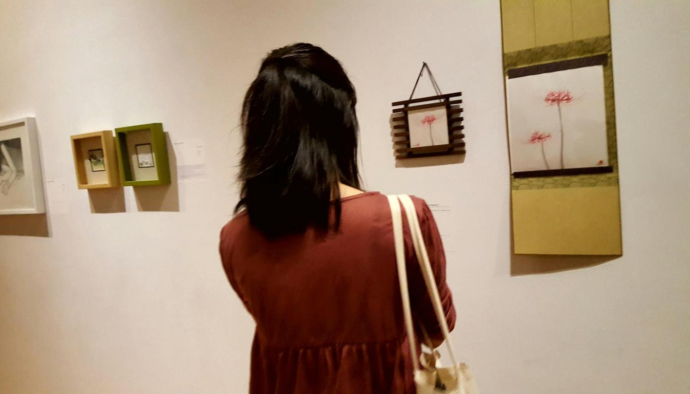 【田螺随拍】周末去参加朋友的小画展_图1-11
