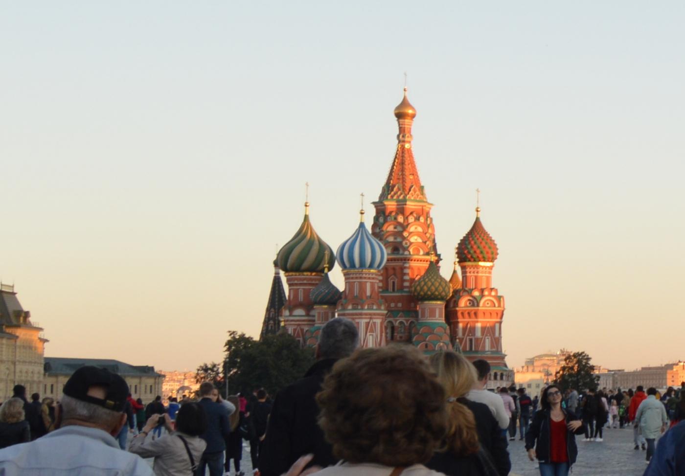 夜游莫斯科红场_图1-1