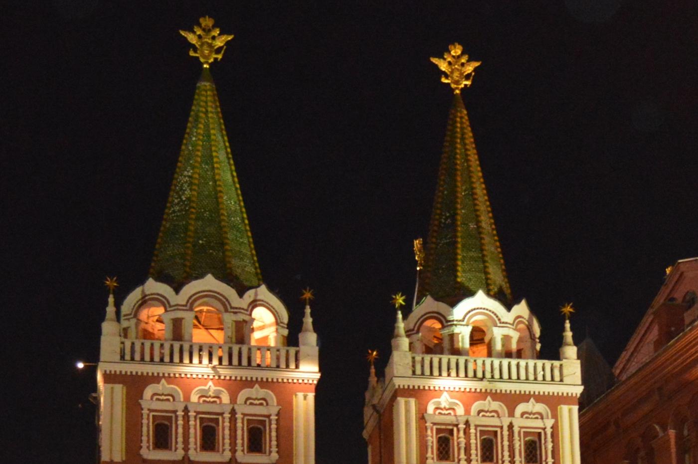 夜游莫斯科红场_图1-3