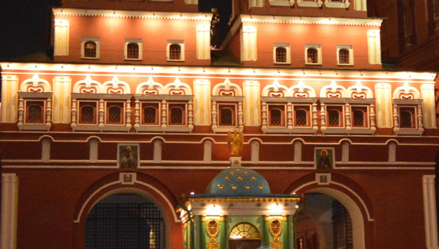 夜游莫斯科红场_图1-4