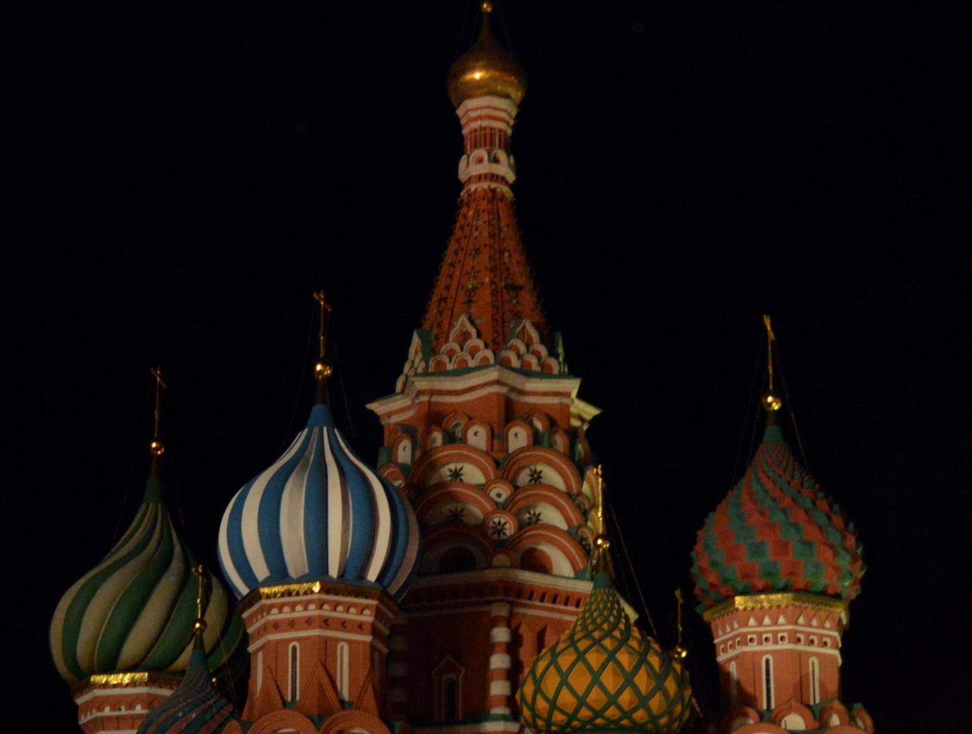 夜游莫斯科红场_图1-5