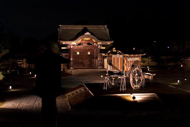 京都行之......大觉寺夜拍红叶_图1-4