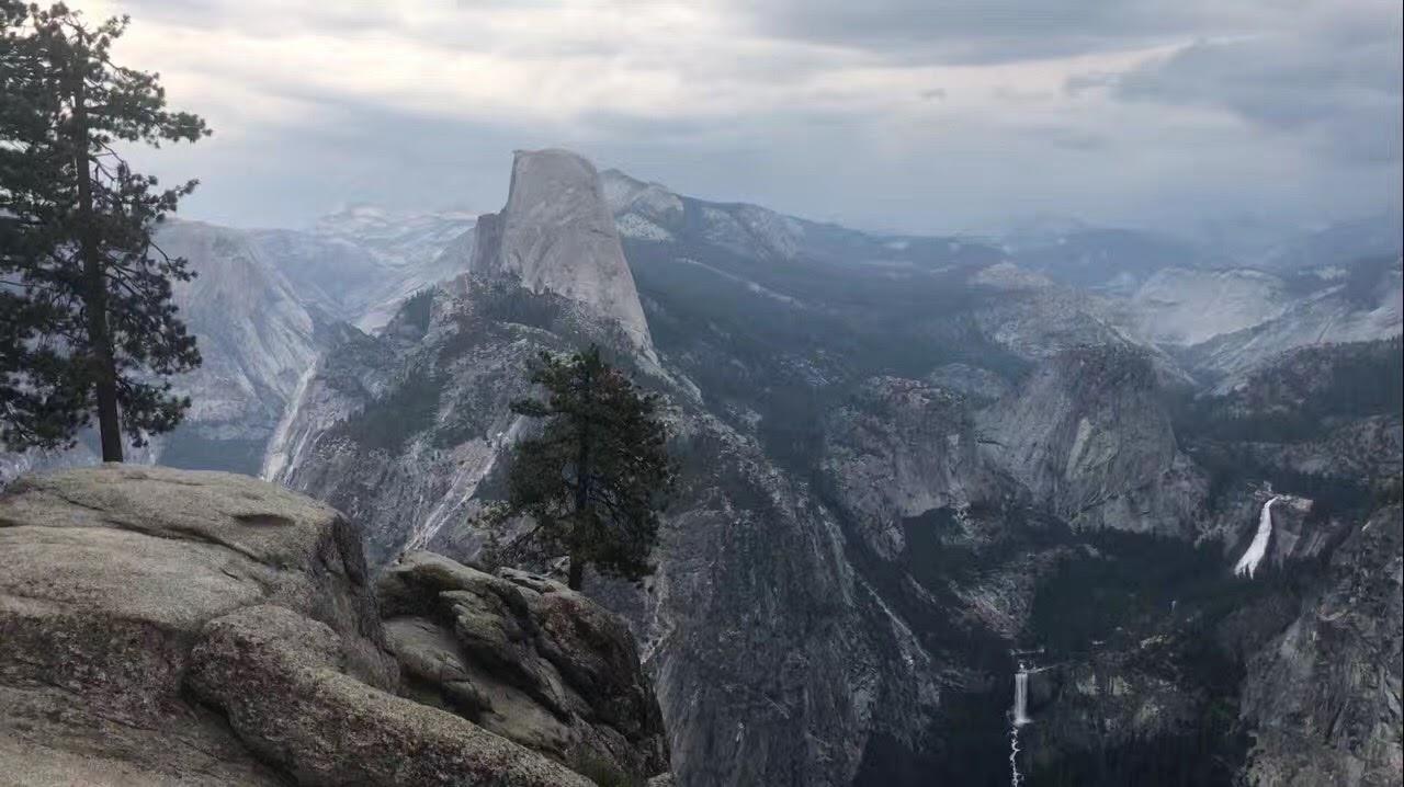 加州优胜美地公家公园 - 冰川点_图1-1
