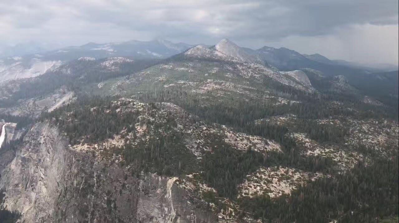 加州优胜美地公家公园 - 冰川点_图1-3
