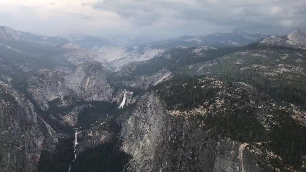 加州优胜美地公家公园 - 冰川点_图1-2