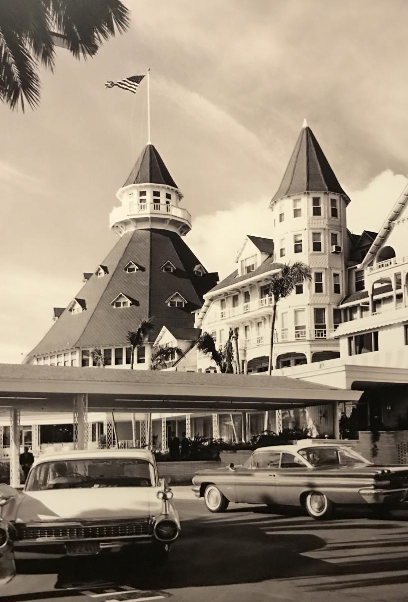圣地亚哥科罗娜多酒店的老照片_图1-8