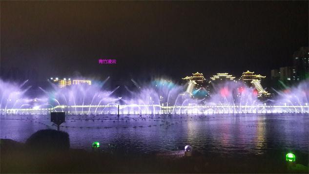 【青竹凌云】似梦似幻的音乐喷泉 (原创摄影)_图1-16