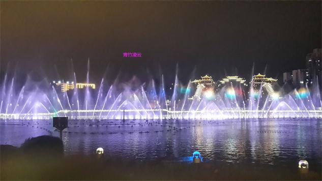 【青竹凌云】似梦似幻的音乐喷泉 (原创摄影)_图1-17