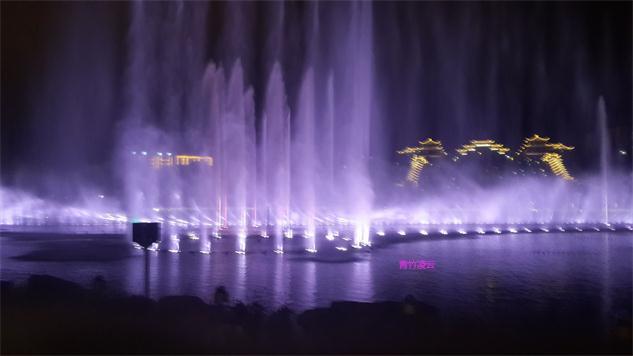 【青竹凌云】似梦似幻的音乐喷泉 (原创摄影)_图1-25