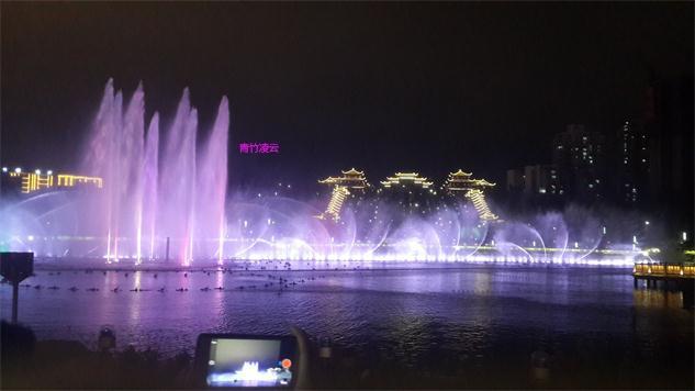 【青竹凌云】似梦似幻的音乐喷泉 (原创摄影)_图1-27