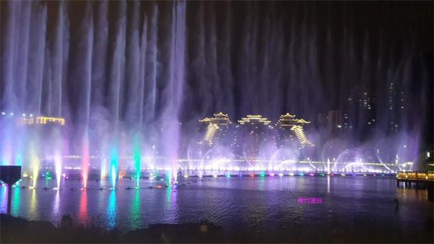 【青竹凌云】似梦似幻的音乐喷泉 (原创摄影)_图1-28