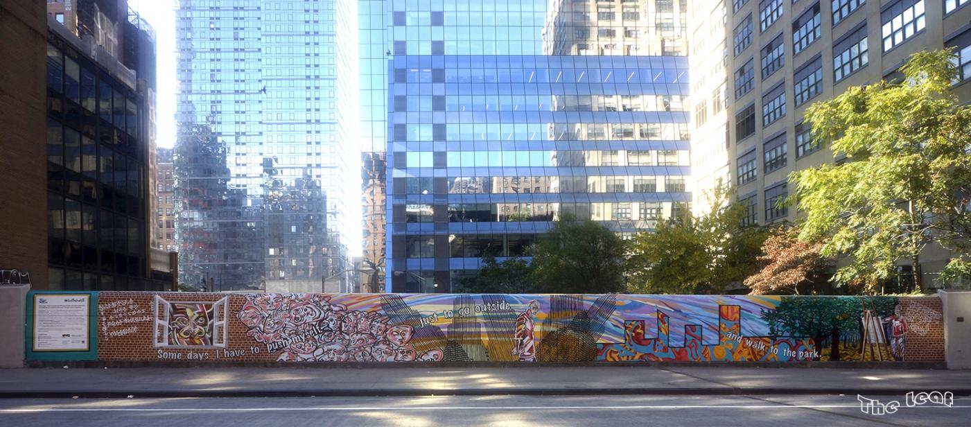 34街路上桥画廊        【一片叶】_图1-1
