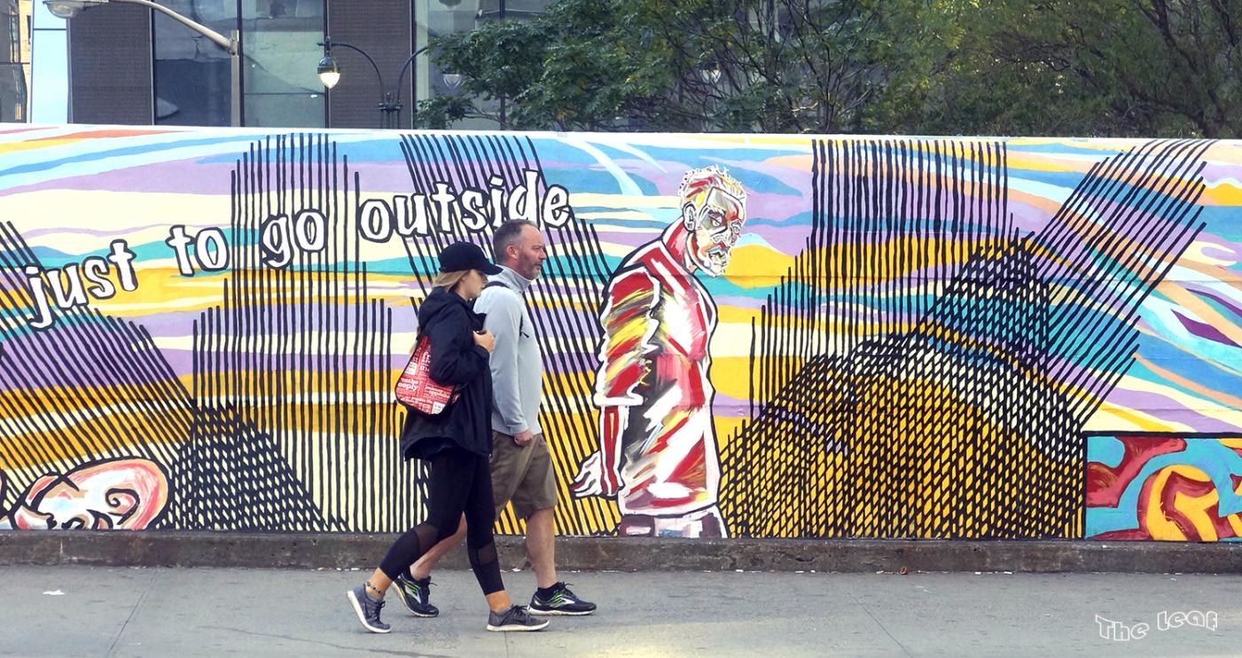 34街路上桥画廊        【一片叶】_图1-4