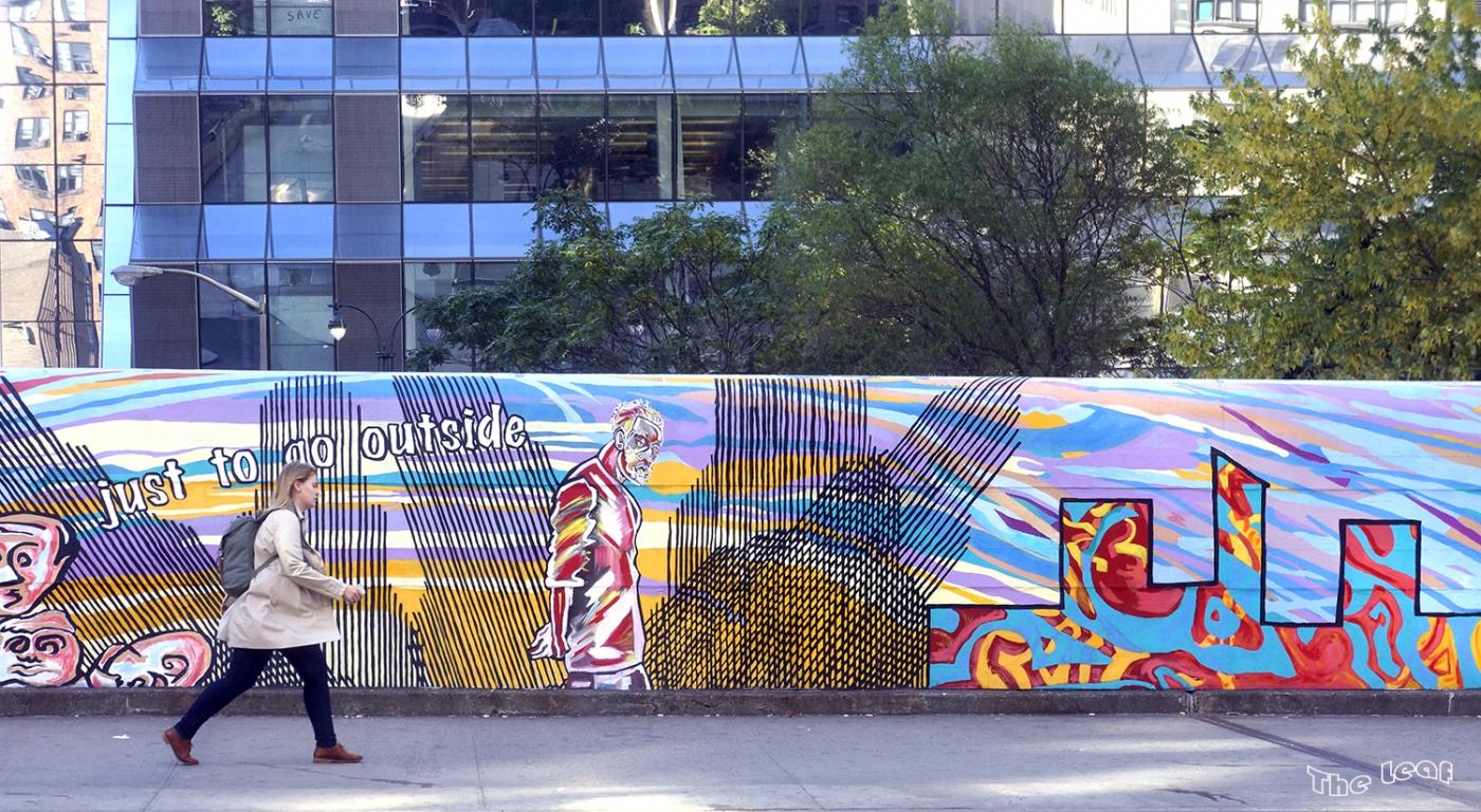 34街路上桥画廊        【一片叶】_图1-5
