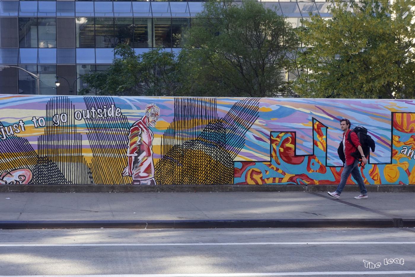 34街路上桥画廊        【一片叶】_图1-6