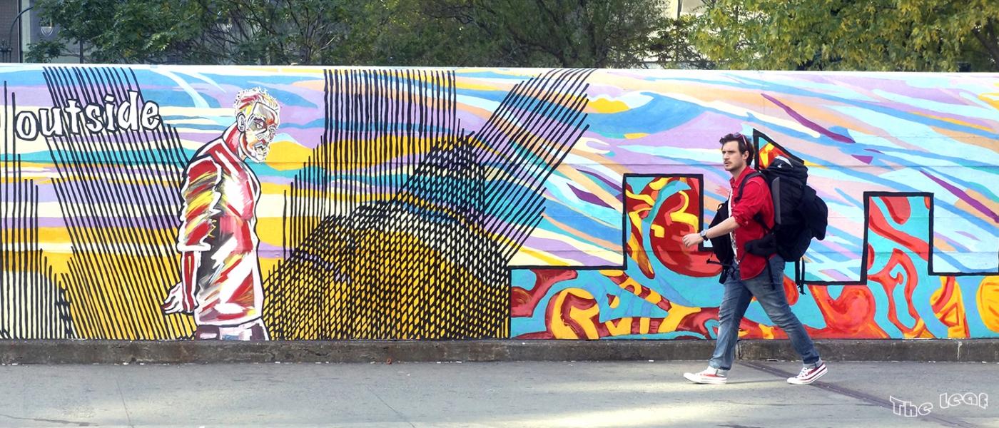 34街路上桥画廊        【一片叶】_图1-9