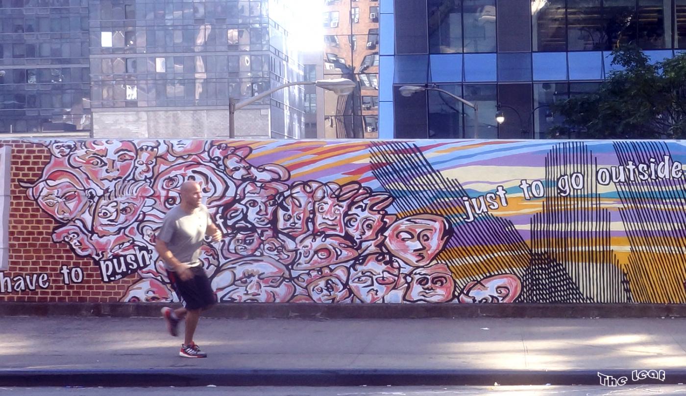 34街路上桥画廊        【一片叶】_图1-7