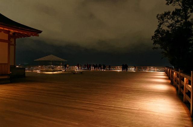 京都行之......青龙殿夜拍红叶_图1-2
