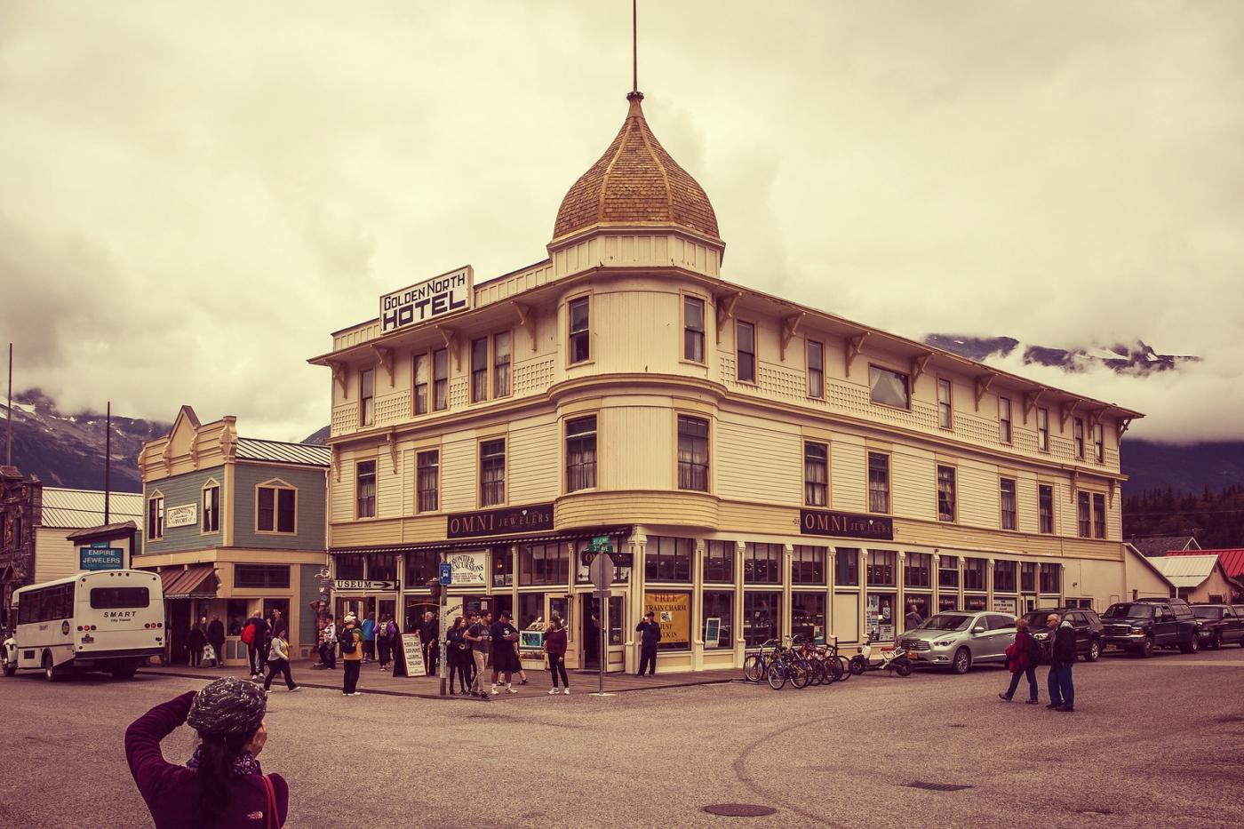 美国阿拉斯加小城史凯威,原来是这样_图1-1