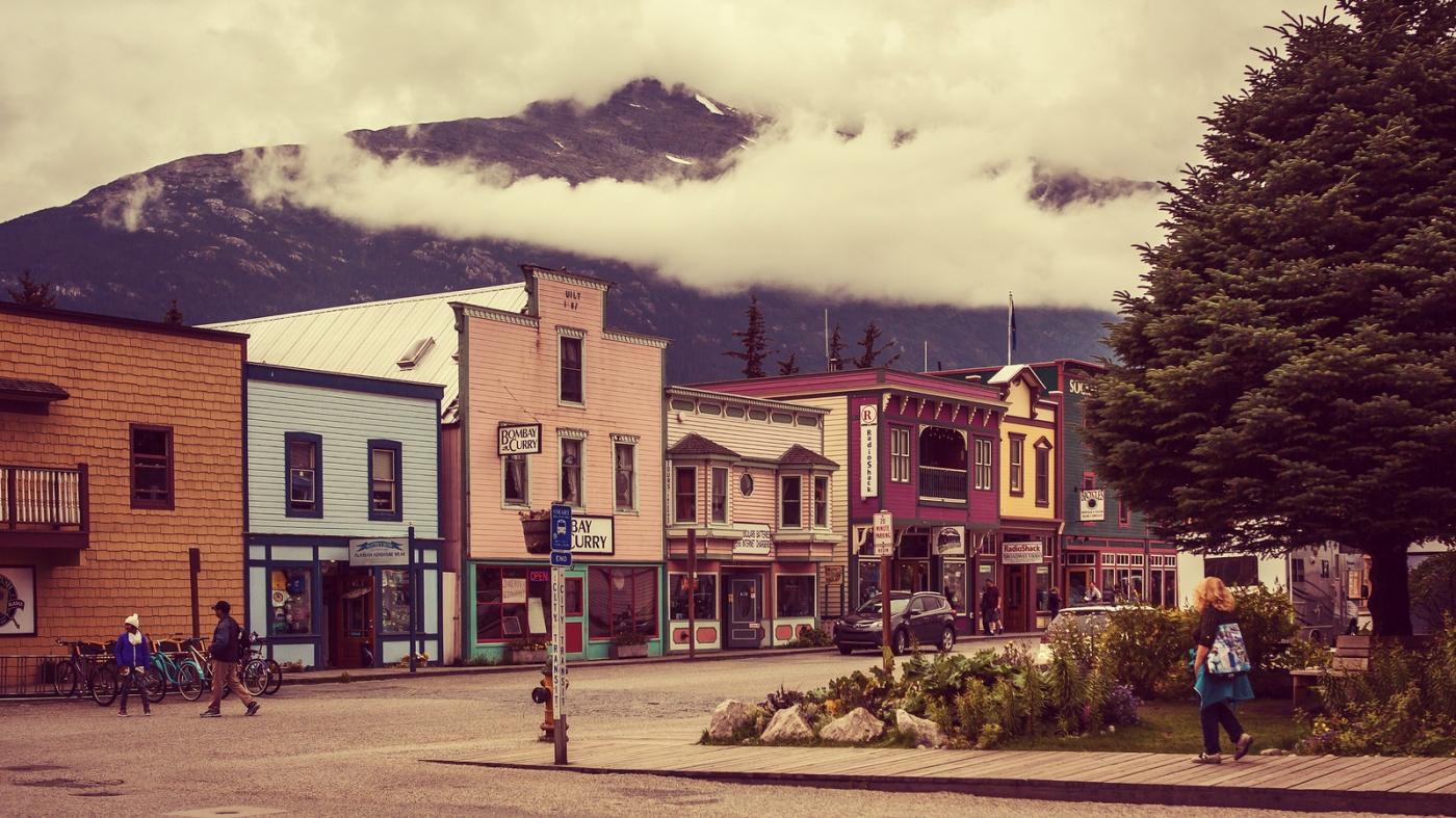 美国阿拉斯加小城史凯威,原来是这样_图1-4