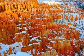 冬季的布懒斯峡谷