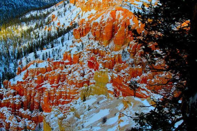 冬季的布懒斯峡谷_图1-22