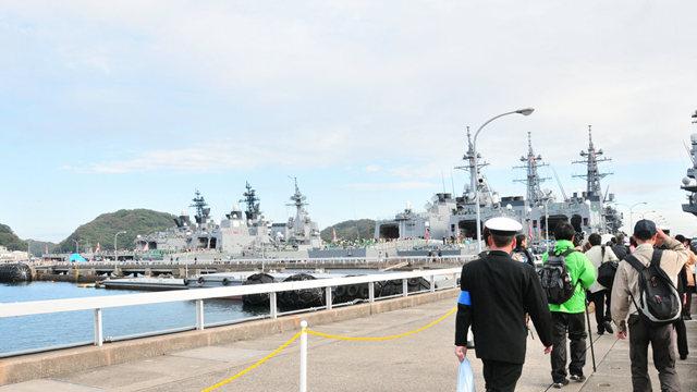 海上自卫队海军节_图1-4