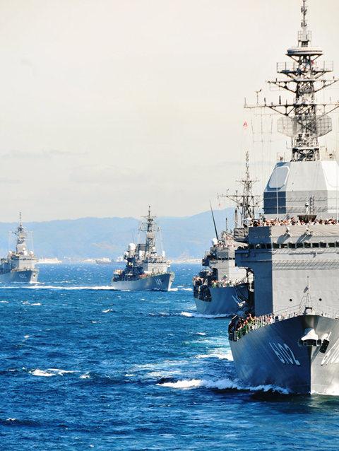 海上自卫队海军节_图1-19