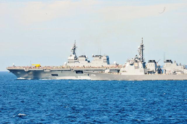 海上自卫队海军节_图1-27