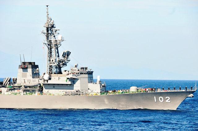 海上自卫队海军节_图1-34