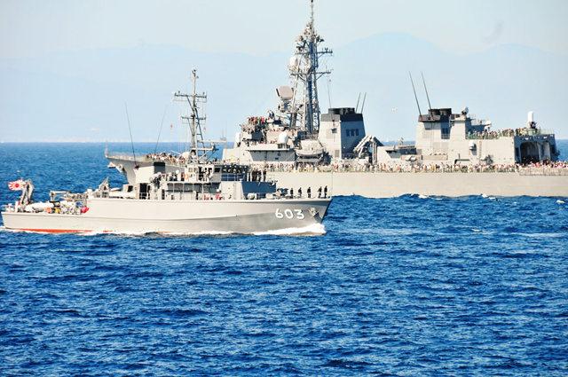 海上自卫队海军节_图1-43