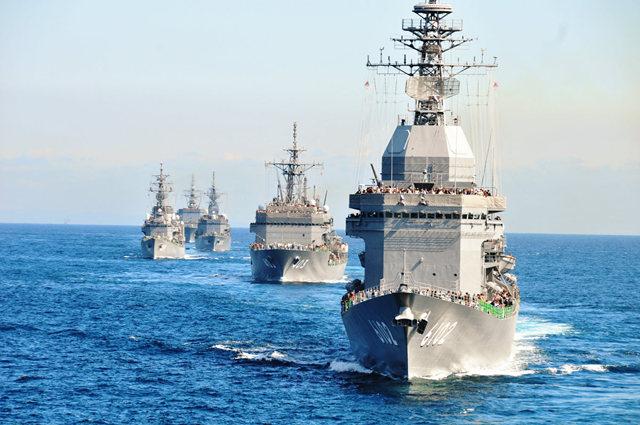 海上自卫队海军节_图1-56
