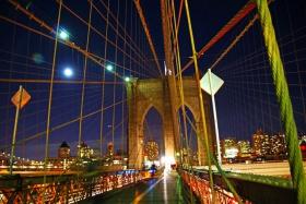 夜拍布鲁克林桥