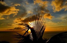 度假岛.拍夕阳