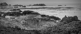加州17英里,海边奇石怪岩