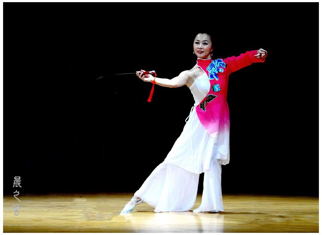 """剑舞--表演者""""史颖""""_图1-4"""