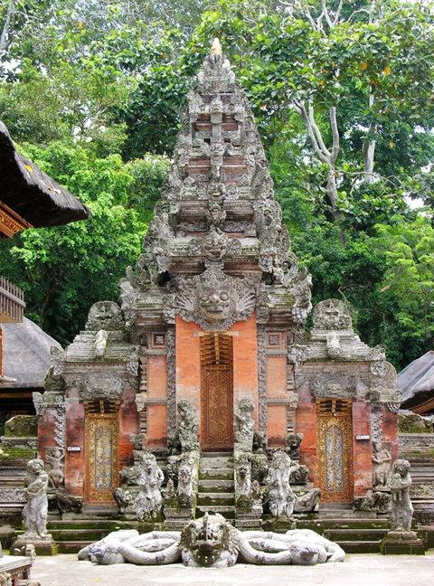 印尼萨拉斯瓦蒂寺.乌布王宫_图1-17