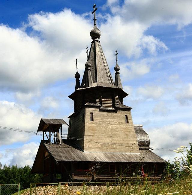 Kizhi Pogost 木制教堂_图1-16