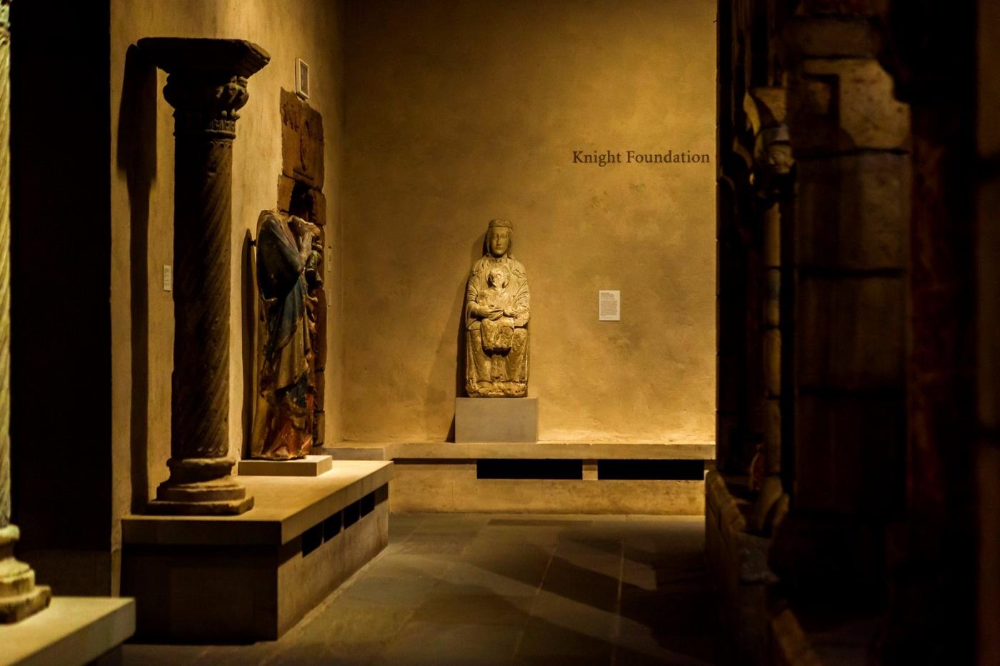 费城艺术馆,光影下的艺术品_图1-4