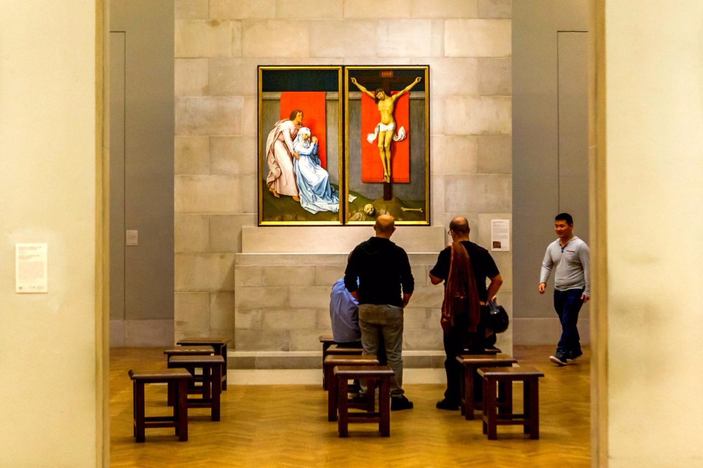费城艺术馆,光影下的艺术品_图1-5