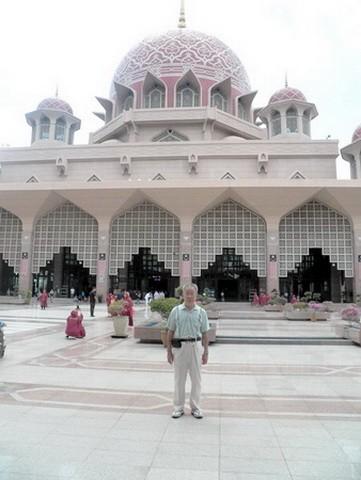 马来西亚的水上清真寺_图1-1