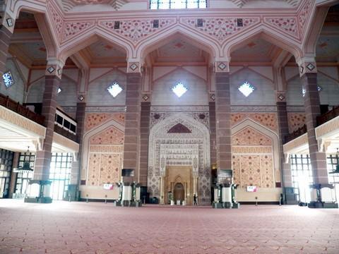 马来西亚的水上清真寺_图1-9