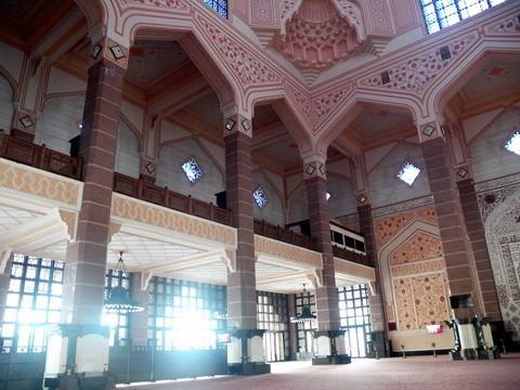 马来西亚的水上清真寺_图1-10
