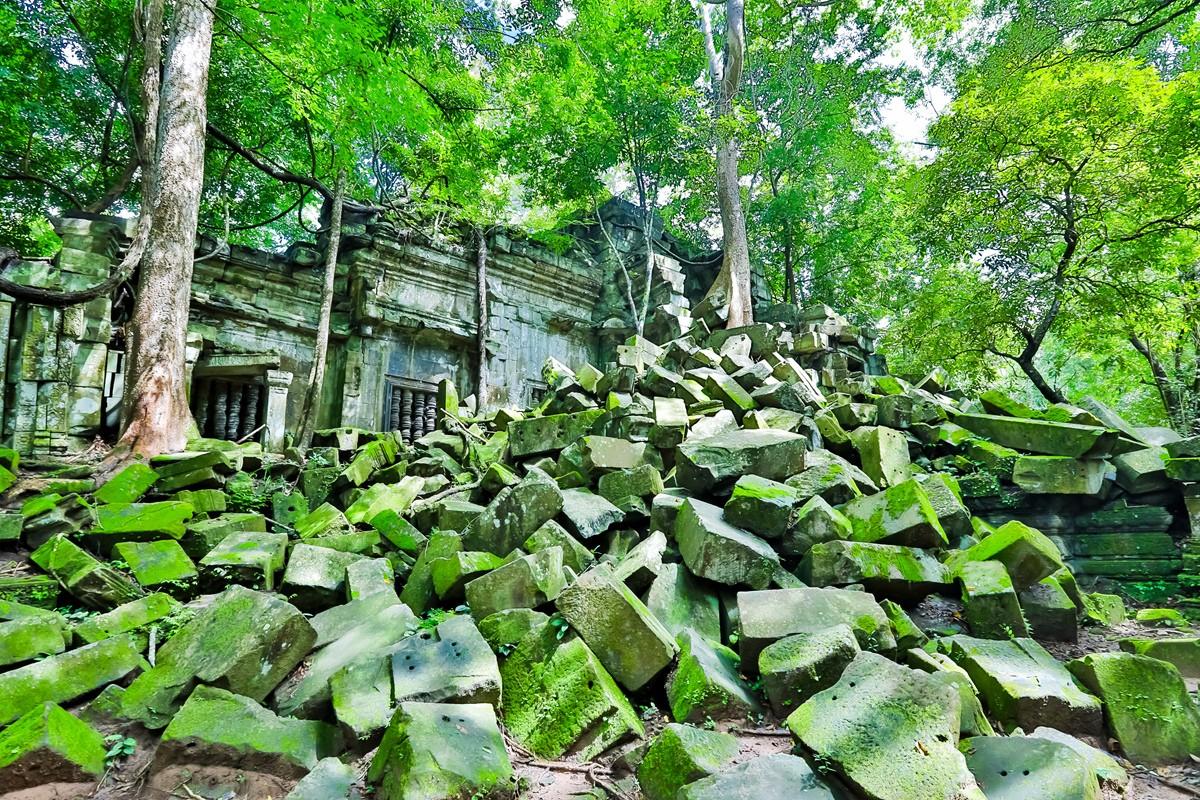 【杆说杆摄】崩密列 失落在原始丛林中的绿色王国 这里是摄影人的天堂 ..._图1-4