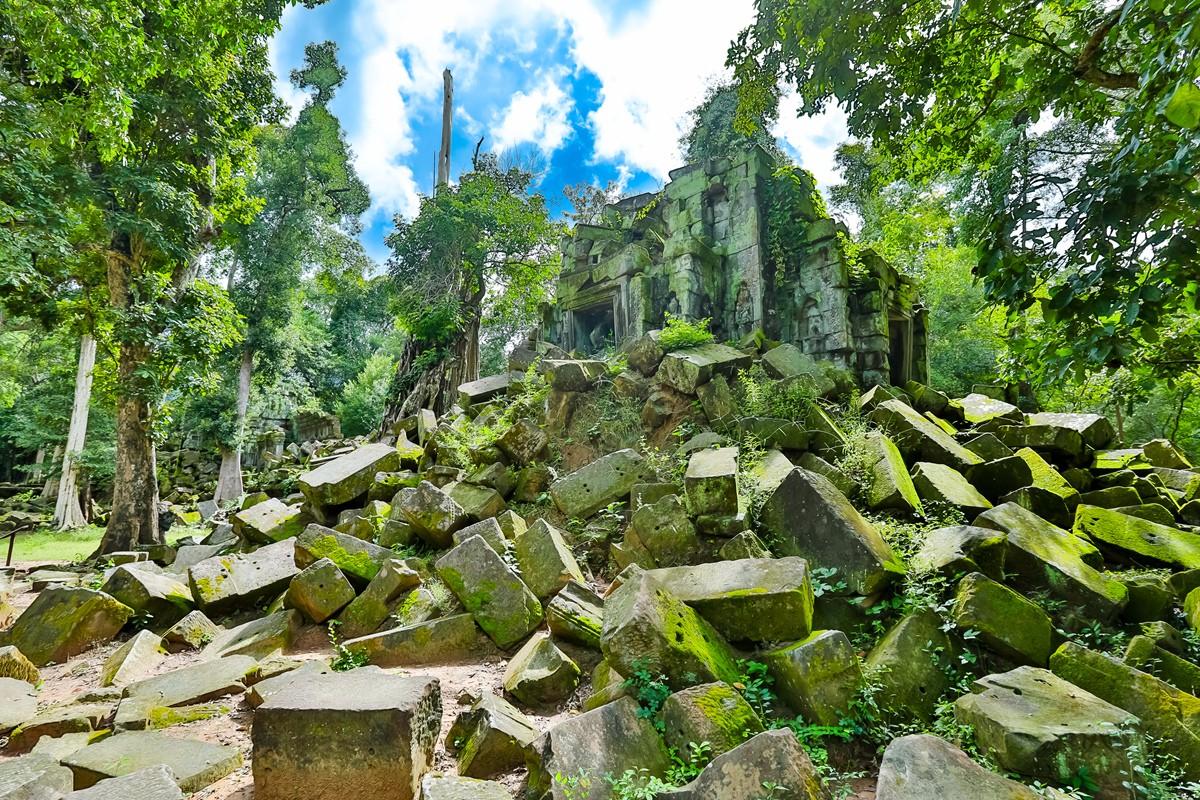 【杆说杆摄】崩密列 失落在原始丛林中的绿色王国 这里是摄影人的天堂 ..._图1-9