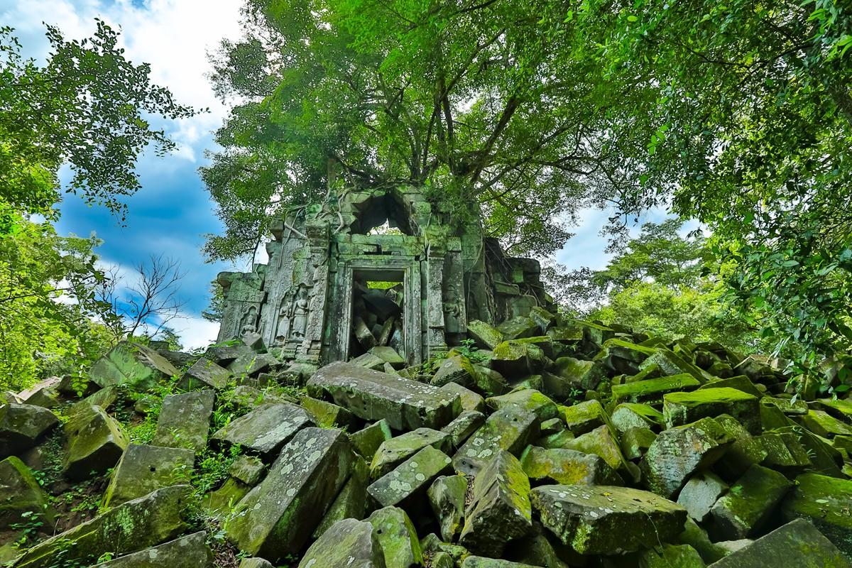 【杆说杆摄】崩密列 失落在原始丛林中的绿色王国 这里是摄影人的天堂 ..._图1-13
