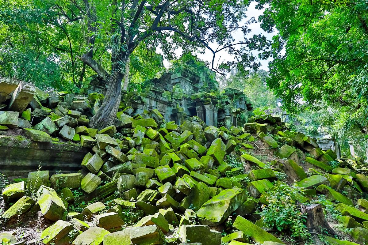 【杆说杆摄】崩密列 失落在原始丛林中的绿色王国 这里是摄影人的天堂 ..._图1-12