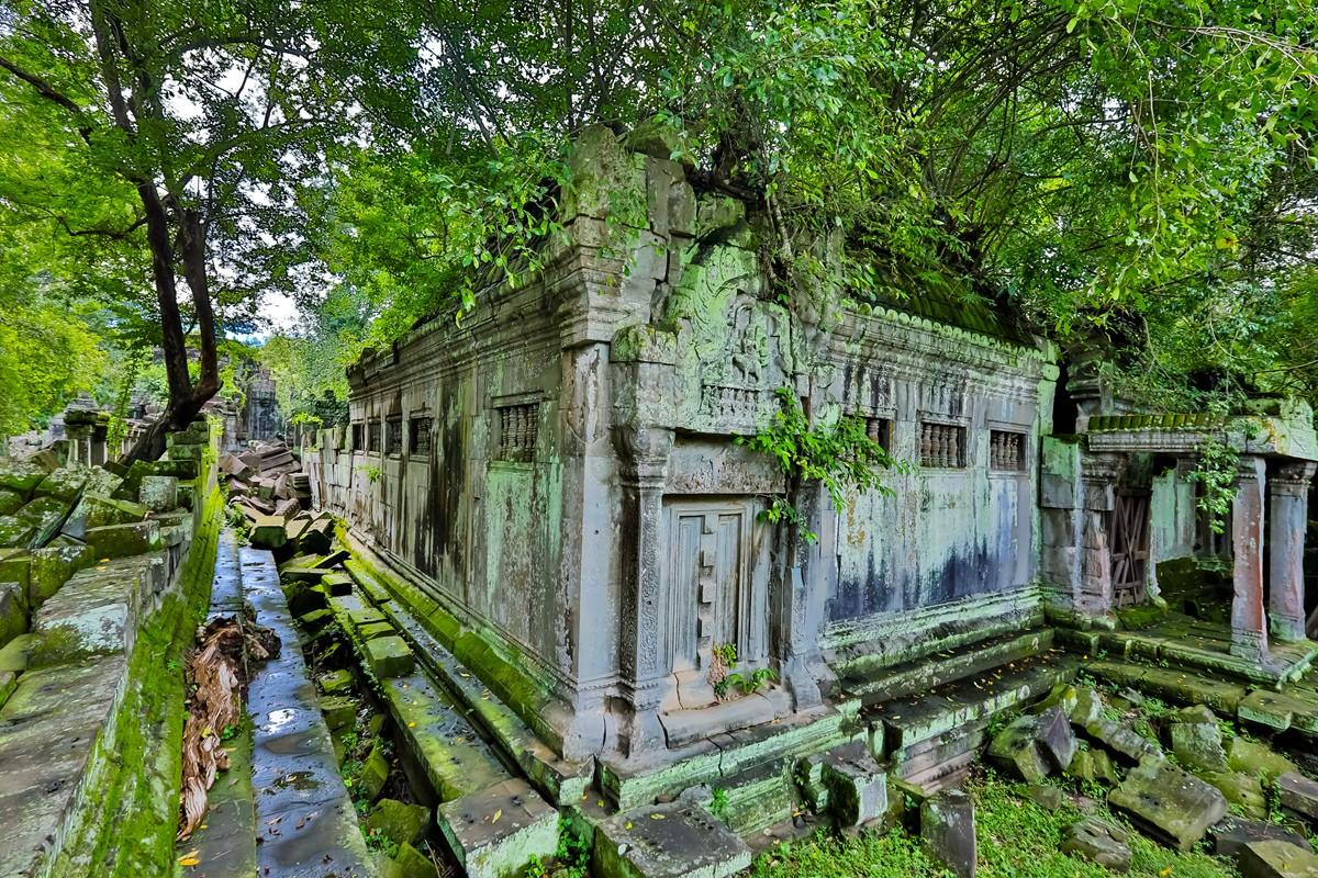 【杆说杆摄】崩密列 失落在原始丛林中的绿色王国 这里是摄影人的天堂 ..._图1-14