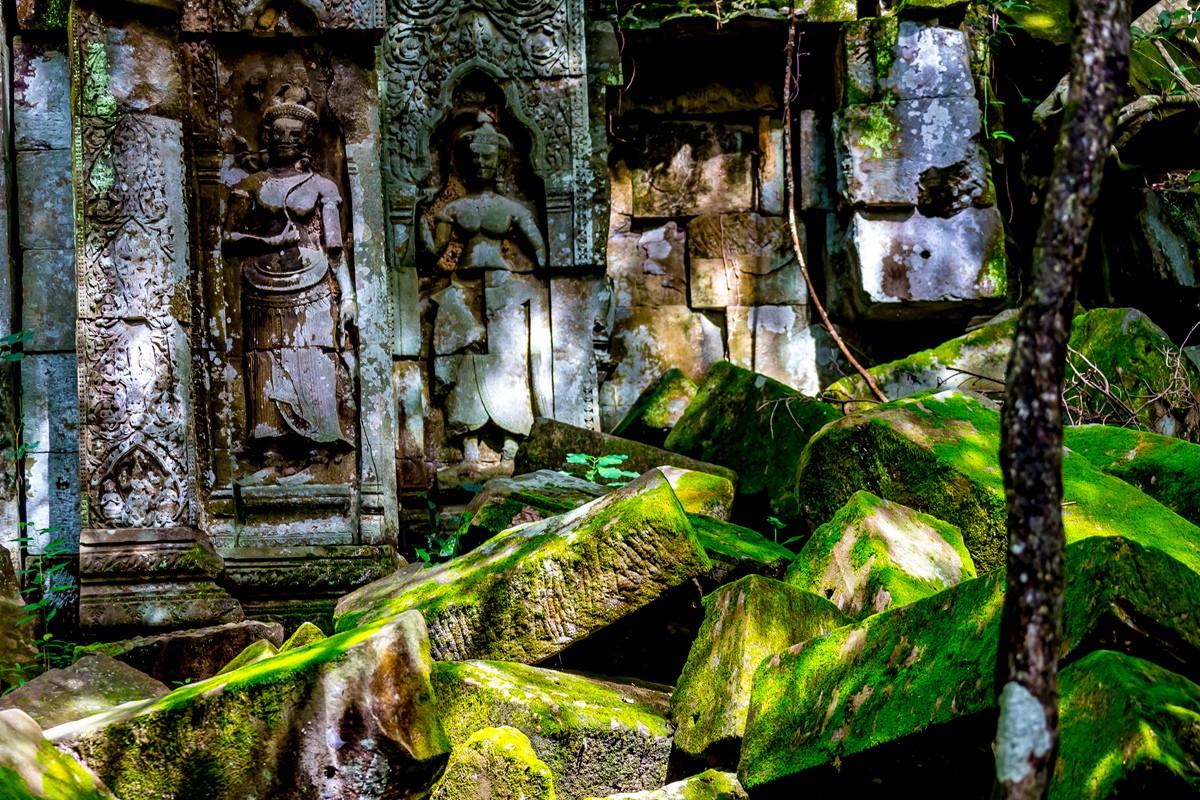 【杆说杆摄】崩密列 失落在原始丛林中的绿色王国 这里是摄影人的天堂 ..._图1-34